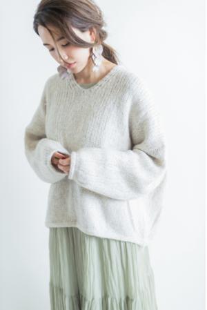 芸能人が文化庁Webで着用した衣装ニット/セーター