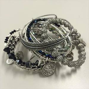 ALEX AND ANIの【0008】Bangle
