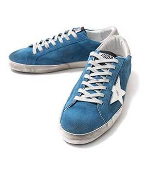 Golden GooseのSNEAKERS SUPER STAR-BLUE SKYWHITE STAR