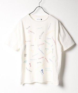 芸能人がレンアイ漫画家で着用した衣装Tシャツ