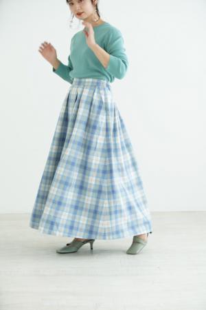 芸能人が行列のできる芸能人通販王決定戦で着用した衣装スカート