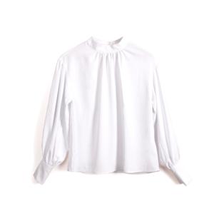 芸能人が日本ハム中華名菜webCMで着用した衣装シャツ / ブラウス