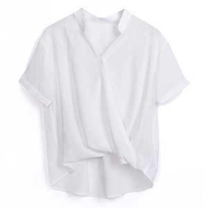 芸能人が日本ハム中華名菜webCMで着用した衣装シャツ/ブラウス