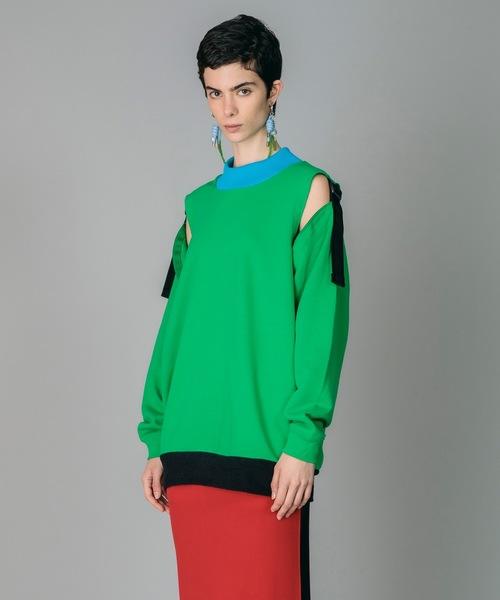 芸能人がホンマでっか!?TVで着用した衣装カットソー、パンツ