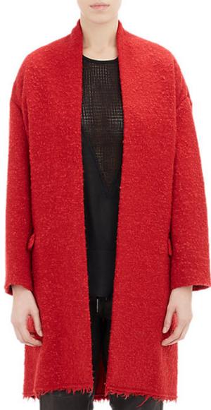 芸能人がCM 資生堂 TSUBAKIで着用した衣装赤いコート