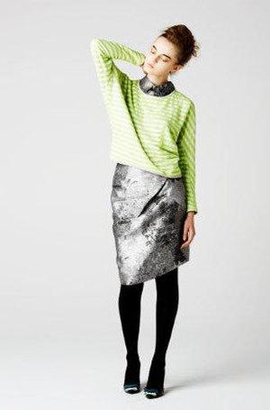 芸能人が東京PRウーマンで着用した衣装スカート