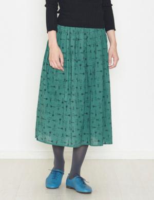 芸能人が西川きよしのおしゃべりあるき目ですで着用した衣装スカート