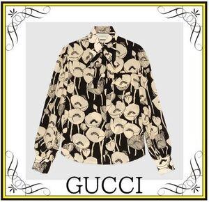 芸能人がイベント Gucci Garden Archetypesで着用した衣装シャツ / ブラウス