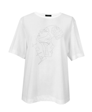 芸能人がアンラッキーガール!で着用した衣装Tシャツ