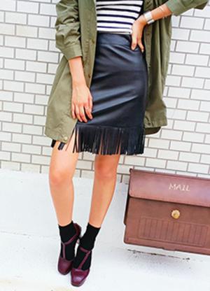 芸能人がダウンタウンDXで着用した衣装スカート