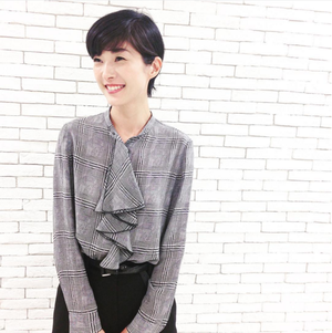 芸能人片瀬那奈が11月1日 シューイチで着用した衣装ブラウス スカート