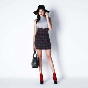 芸能人がビジネスクリックで着用した衣装スカート