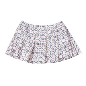PAUL & JOE SISTERのFaience Printed White Skirt