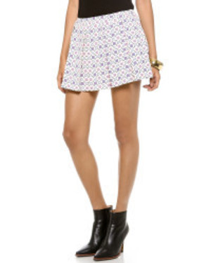 PAUL & JOE SISTERのPaul & joe Faience Skirt in Multicolor (Ecru) | Lyst