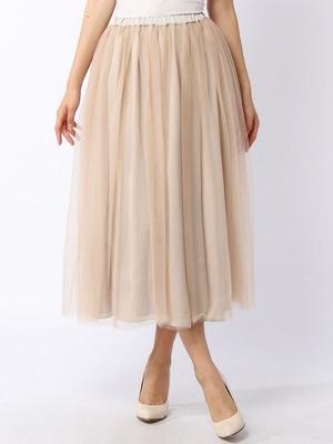 芸能人がキラキラアフロで着用した衣装スカート