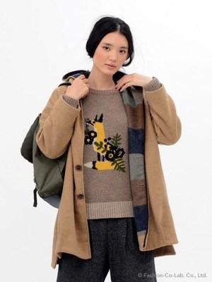 芸能人川口春奈が家族ノカタチで着用した衣装コート