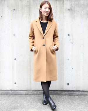 芸能人結婚しない女・キャリアウーマン・総合商社勤務が家族ノカタチで着用した衣装コート