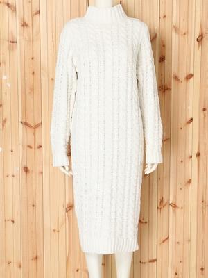 芸能人結婚しない女・キャリアウーマン・総合商社勤務が家族ノカタチで着用した衣装ニットワンピース