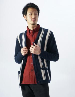芸能人主人公の同僚・好青年がダメな私に恋してくださいで着用した衣装カーディガン