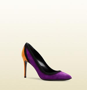 芸能人がジョブチューン ~アノ職業のヒミツぶっちゃけます!で着用した衣装紫の靴