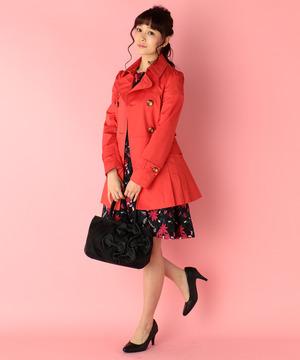 芸能人お嬢様・新入社員が家族ノカタチで着用した衣装コート