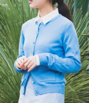 芸能人小林麗菜が王様のブランチで着用した衣装カーディガン