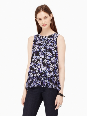 kate spade new yorkのJAZZ THINGS UP HYDRANGEA DOUBLE LAYER TANK
