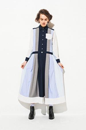 芸能人佐藤栞里が笑ってコラえて!秋祭りSPで着用した衣装ワンピース