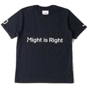 The SoloIst.のMight is Rightロゴポケット付きTシャツ