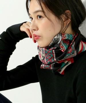 芸能人主役・校閲部・希望はファッション誌編集部が地味にスゴイ!校閲ガール・河野悦子で着用した衣装スカーフ