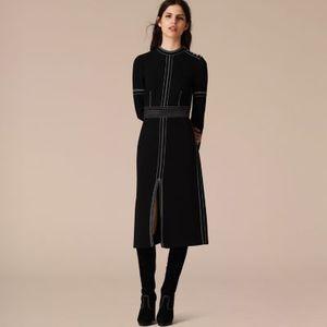 芸能人主役の叔母・自由奔放がカインとアベルで着用した衣装黒  ワンピース