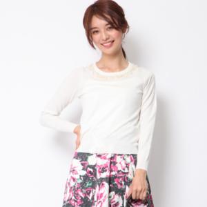 芸能人穂川果音がアベマプライム  で着用した衣装ニット
