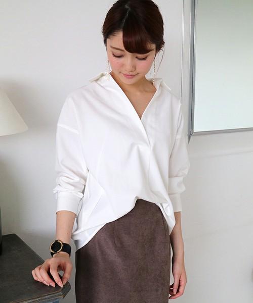 N.(N. Natural Beauty Basic)のリラックスシャツ