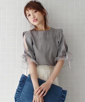 芸能人欅坂がブログで着用した衣装ブラウス/ワンピース