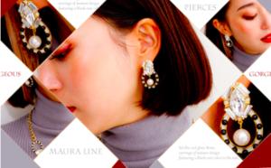 芸能人モデルがC CHANNELで着用した衣装ピアス(両耳用)