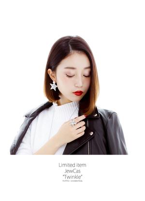 芸能人がC CHANNELで着用した衣装ピアス(両耳用)