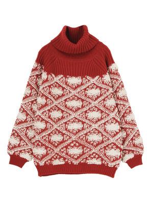 芸能人が志村の時間で着用した衣装セーター