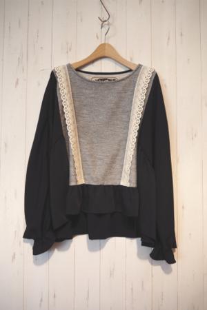 芸能人納富有沙が東京女子図鑑で着用した衣装シャツ / ブラウス