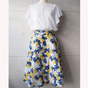 芸能人miwaがキスマイBUSAIKUで着用した衣装花柄スカート