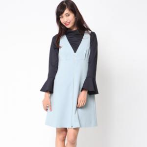 芸能人池澤あやかがアベマプライム  で着用した衣装ワンピース