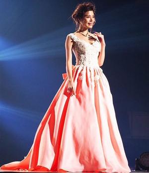 芸能人がInstagramで着用した衣装ドレス/ドレス