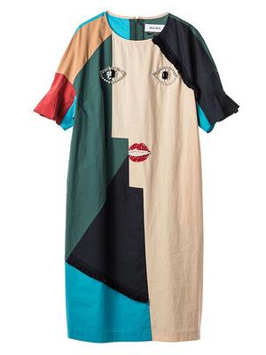 芸能人高橋充希がさんまのまんまで着用した衣装ワンピース