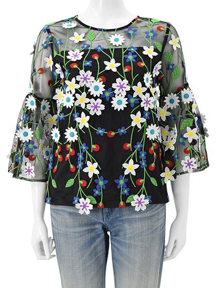 芸能人が幸せ!ボンビーガールで着用した衣装シャツ / ブラウス