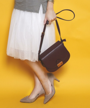 芸能人が女の中にいる他人で着用した衣装ショルダーバッグ