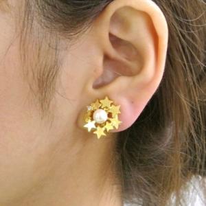 芸能人がバチェラーJAPANで着用した衣装ピアス(両耳用)