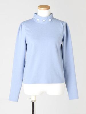 芸能人がS☆1で着用した衣装薄青紫色の長袖トップス