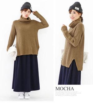 芸能人主役:女子モドキ・J(細身で長身)が人は見た目が100パーセントで着用した衣装ニット
