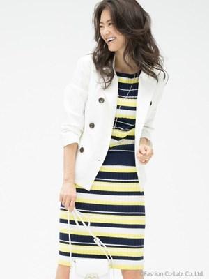 芸能人主役:女子モドキ・J(細身で長身)が人は見た目が100パーセントで着用した衣装コート