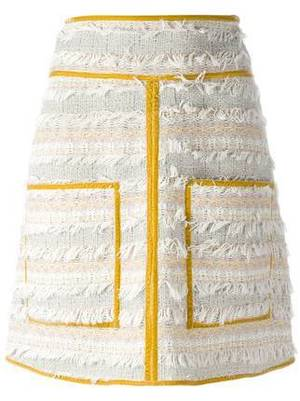 芸能人ステキ女子・化粧品会社の庶務課勤務が人は見た目が100パーセントで着用した衣装スカート