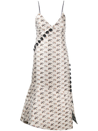 IRENEのjacquard bird dress